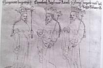 MANŽELKY LUCEMBURKŮ – císařovna Markéta, Eliška Přemyslovna, Anna, manželka Karla IV.