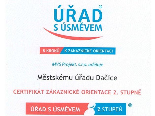 Úřad v Dačicích je s úsměvem.