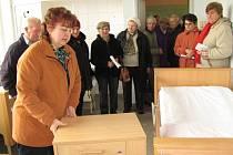 Den otevřených dveří v dačické nemocnici přilákal desítky zájemců, kteří si prohlédli nově rekonstruované prostory.