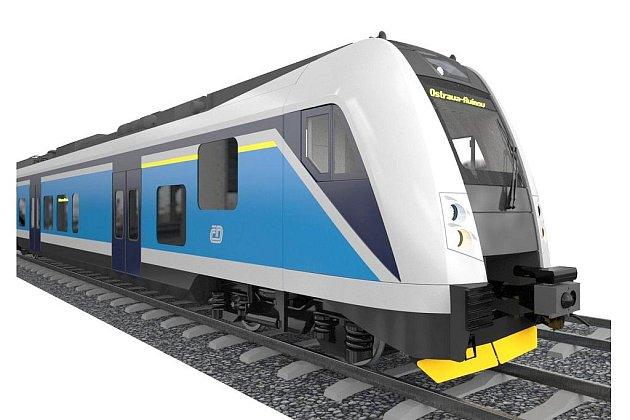 Nový nízkopodlažní vlak, který bude jezdit i na jihu Čech, a to na tratích Strakonice – České Budějovice – České Velenice.