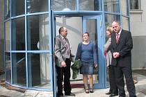 Slavnostní otevření půdní vestavby jindřichohradeckého gymnázia.