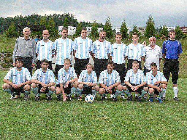 Fotbalisté Kunžaku vyhráli okresní přebor a po roce se vracejí do krajské I. B třídy.