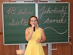 Žáci ze základních škol a víceletých gymnázií z Jindřichohradecka soutěžili v pěvecké soutěži Jihočeský zvonek.
