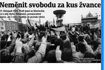 Opět si připomínáme výročí Sametové revoluce 17. listopadu 1989.