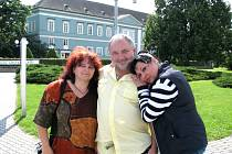 Filmová komedie Jedlíci aneb Sto kilo lásky s Václavem Svobodou a Dagmar Patrasovou se natáčela v roce 2012 také v Dačicích.