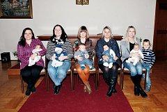 V Třeboni se konalo vítání nově narozených dětí.