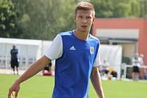 Třeboňský útočník Martin Průcha se podílel na vítězství 2:0 nad táborských béčkem úvodním gólem.