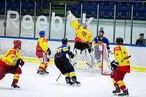 Jindřichohradečtí hokejisté podlehli ve 2. kole krajské ligy na svém ledě Radomyšli 2:3.