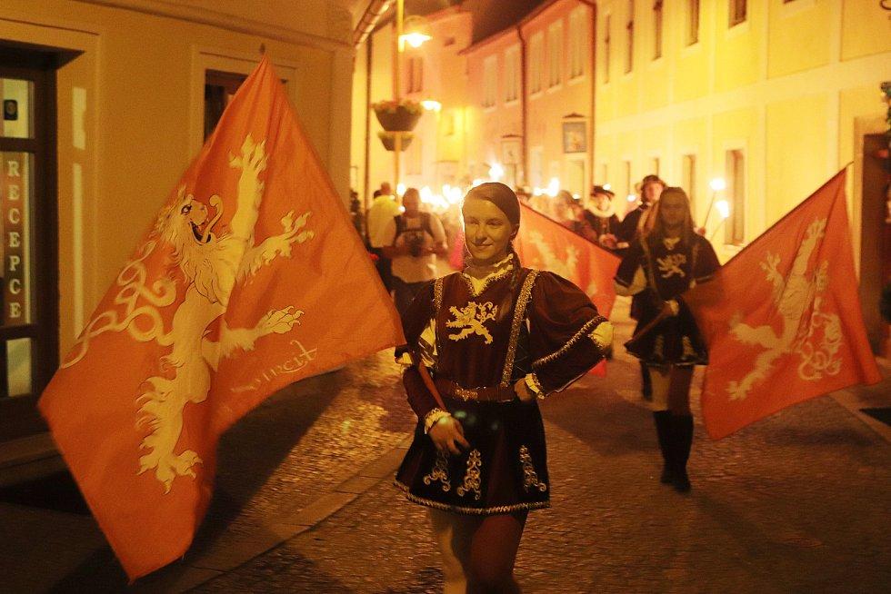 Slavnosti Jakuba Krčína v Třeboni.