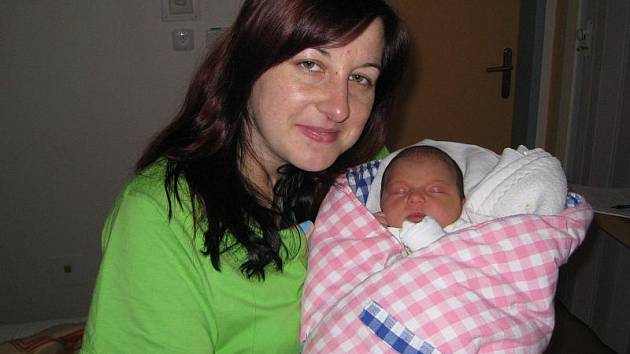 Tereza Langerová z Borovan se narodila 2. listopadu 2010 Lucii a Petru Langerovým. Vážila 3 000 gramů a měřila 49 centimetrů.