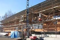 Nově budované sportovní a turistické centrum v Kardašově Řečici.