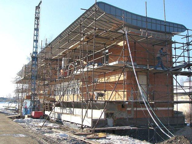 Sportovní a turistické centrum v Kardašově Řečici už nabyla konečnou podobu. .