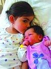 Julie Čermáková se narodila 19. srpna Elišce a Janu Čermákovým ze Zahrádek. Měřila 49 centimetrů a vážila 3600 gramů. Radost z ní má i její tříletá sestřička Adélka.