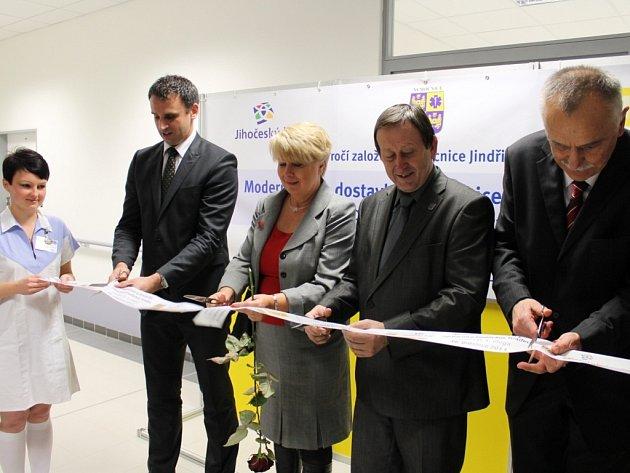 Otevření pavilonu D jindřichohradecké nemocnice.