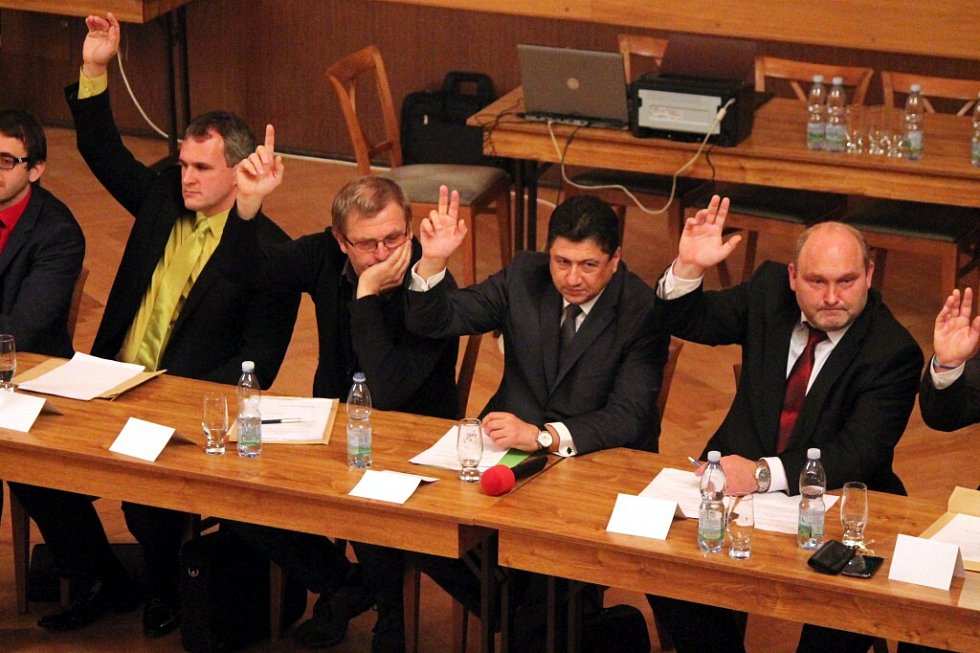 Jindřichohradečtí zastupitelé. Ilustrační foto.