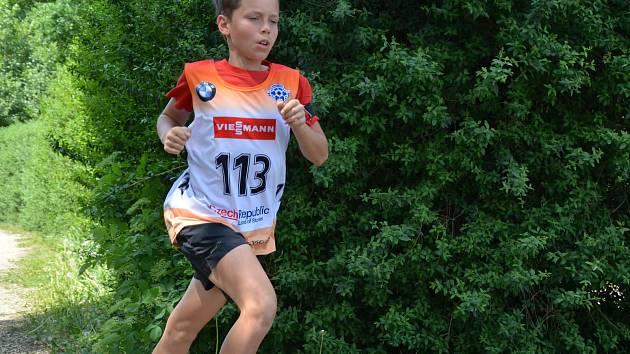 Ondřej Poledník vyhrál v Liticích oba kvalifikační závody Českého poháru v letním biatlonu.
