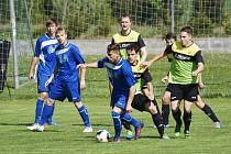 Fotbalisté Třeboně zvítězili v 23. kole krajského přeboru v Oseku 5:1.