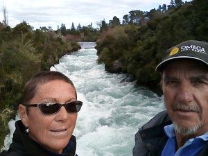 Snímky cestovatelů z Napieru a Taupa.