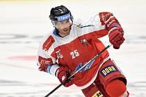 Utkání 1. kola hokejové extraligy: HC Vítkovice Ridera - HC Olomouc, 13. září v Ostravě. Na snímku Zbyněk Irgl.