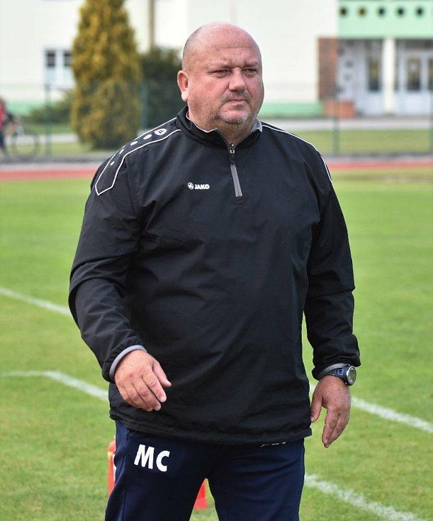 Osmačtyřicetiletý trenér Marek Černoch je kandidátem na uvolněný post předsedy výkonného výboru OFS Jindřichův Hradec.