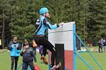 Okresní soutěž v požárním sportu se uskutečnila na fotbalovém hřišti v Plavsku.