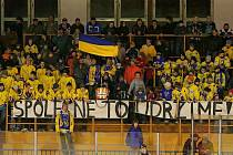 Sektor vlajkonošů Vajgaru byl po dlouhé době znovu plný a za zvuku bubnů neúnavně hnal jindřichohradecké hokejisty za vítězstvím v souboji s pražskou Kobrou.