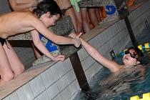 Okresní olympiáda základních škol v plavání