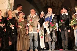 V pátek a sobotu si lidé na III. zámeckém nádvoří užili Cyrana z Bergeracu.