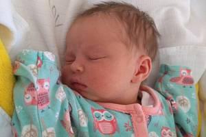Sabina Boukalová, Jindřichův Hradec.Narodila se 19. dubna Veronice a Tomáši Boukalovým, vážila 3 350 gramů a měřila 50 centimetrů.
