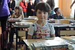 První školní den v základní škole Slavonice.