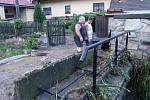 Blesková povodeň v Oldřiši.