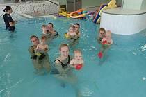 Do plaveckého bazénu se po znovuzahájení provozu od 1. června vrátily kurzy kojenců a batolat. Jde o jedinou aktivitu Plavecké školy Jindřichův Hradec, při níž pracovníci bazénu dokážou zajistit přísné hygienické a bezpečnostní podmínky pro organizované s