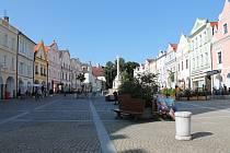 Davy návštěvníků nyní v Třeboni v týdnu nepotkáte. V září se tu pohybují v průběhu týdne spíše jednotlivci nebo malé skupiny.