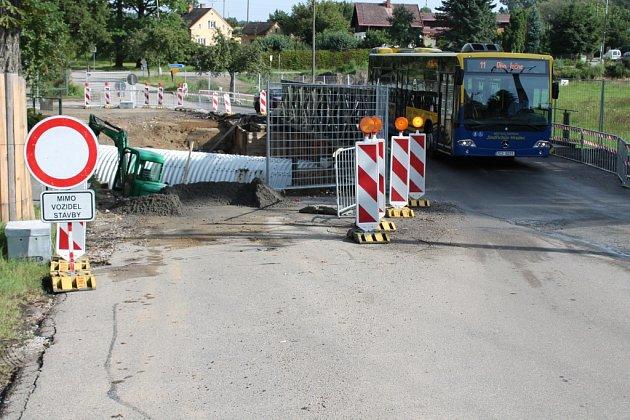 Most přes Ratmírovský potok.