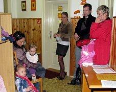 Zápis do mateřské školy v Růžové ulici v Jindřichově Hradci.