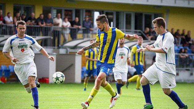 Fotbalisté Kardašovy Řečice doma podlehli Suchdolu 1:2.