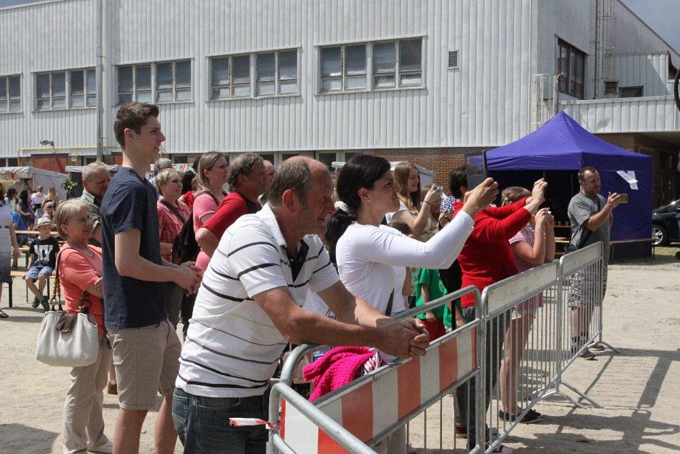 Akce Jak se vaří zdravě se konala na jindřichohradeckém Tyršově stadionu.