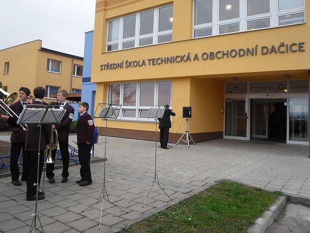 Oslavy 30. výročí Střední školy technické v Dačicích.