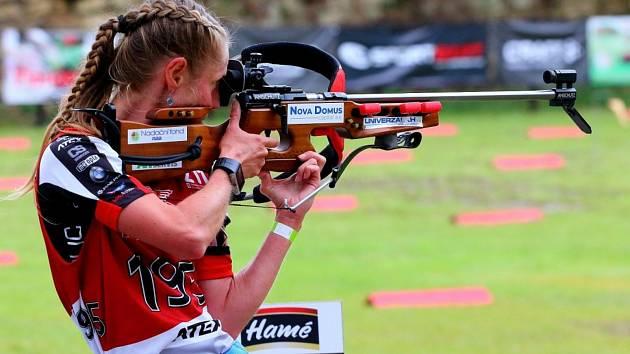 Letní biatlonistka Pavla Schorná se v letošním roce stala dvojnásobnou mistryní republiky a přidala i několik dalších triumfu.