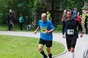 Potřetí se v Jindřichově Hradci běžel půlmaraton.
