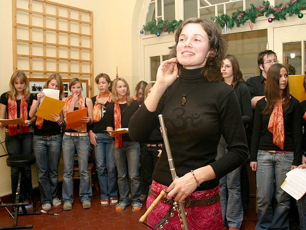Zpívání na schodech