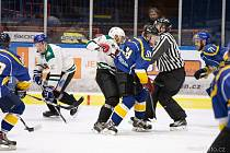 Hokejistům Vajgaru utkání na českokrumlovském ledě hrubě nevyšlo.