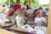 Přírodní učebna v kunžacké škole vznikala postupně.