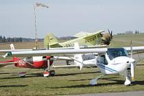 Jindřichohradecké letiště Aeroklubu u Polívek. Ilustrační foto.