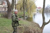 Rybářská sezona je v plném proudu.