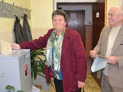Komunální volby v Číměři. Druhý den.