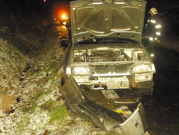 Dopravní nehoda u Nové Vsi nad Lužnicí si vyžádlala zranění. Na místě zasahovali dobrovolní hasiči ze Suchdola nad Lužnicí.