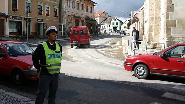 Policie na přechodech