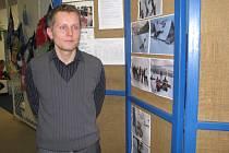 Nový ředitel knihovny Tomáš Dosbaba.
