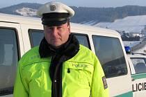 Vedoucí jindřichohradecké policie Karel Kotil.